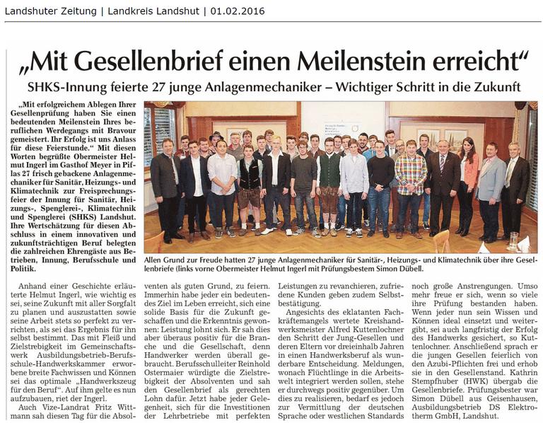 Landshuter Zeitung Simon Dübell